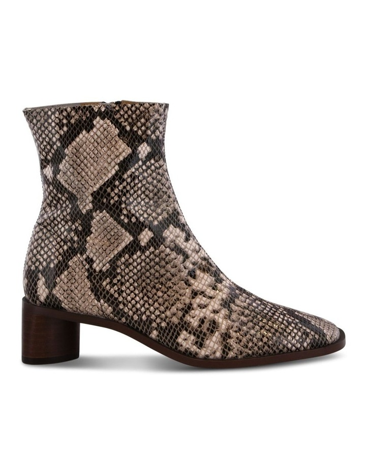 Porta Cream Python Ankle Boots image 1