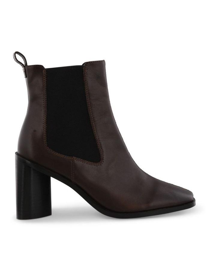 Saddie Choc Como Ankle Boots image 1