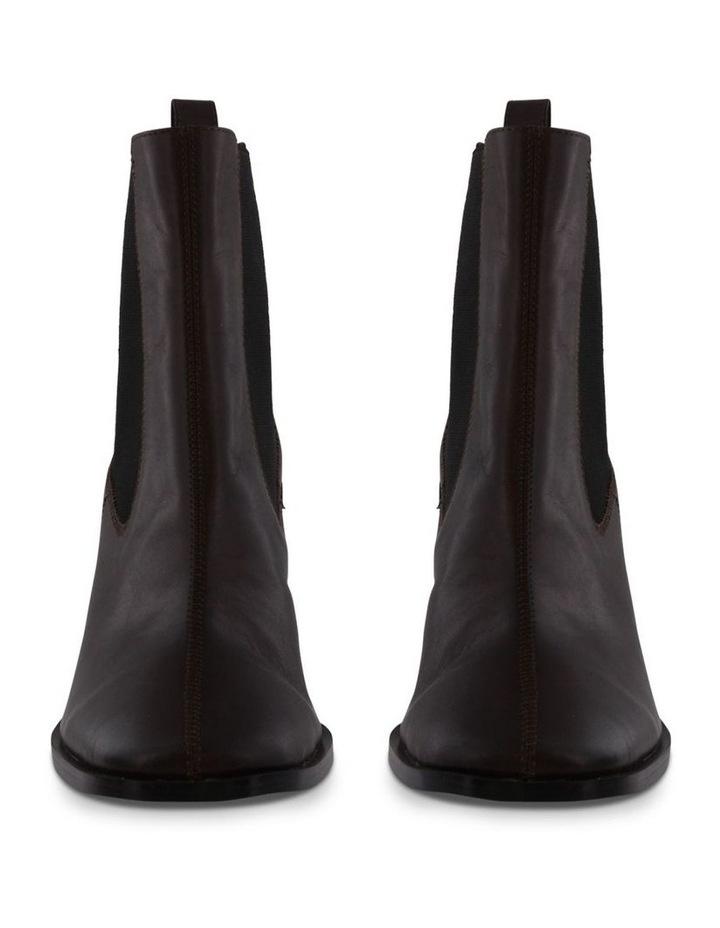 Saddie Choc Como Ankle Boots image 2