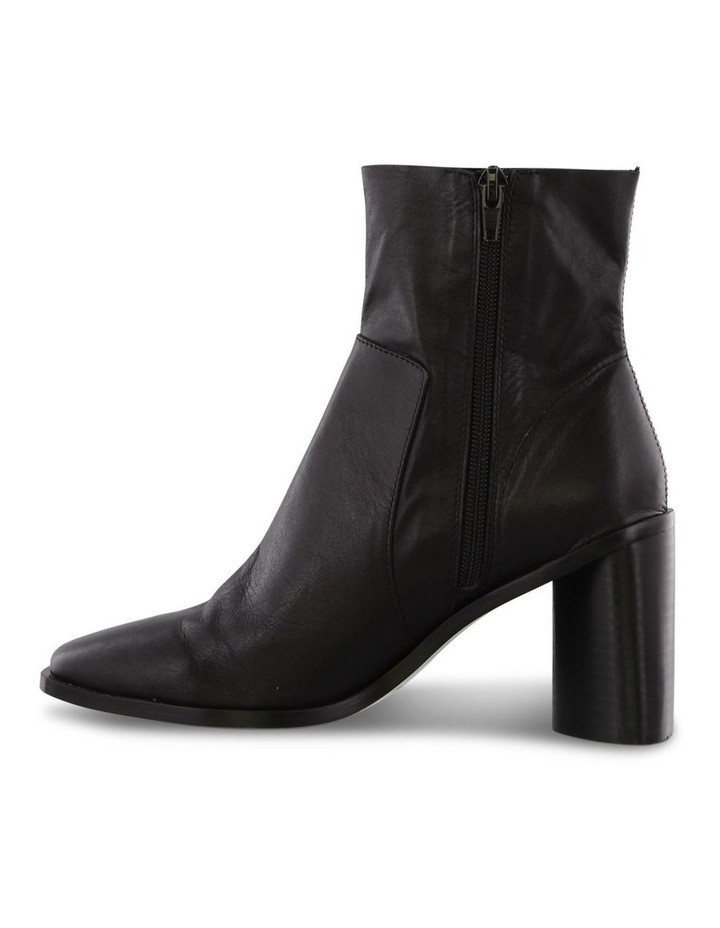Sarno Black Luxe Ankle Boots image 3