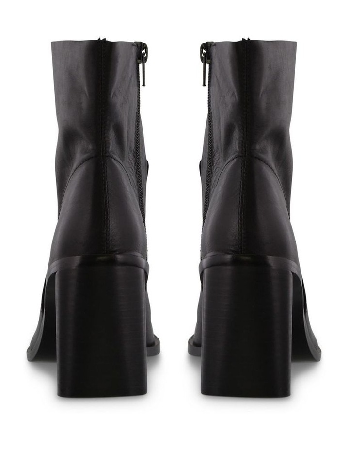 Sarno Black Luxe Ankle Boots image 4
