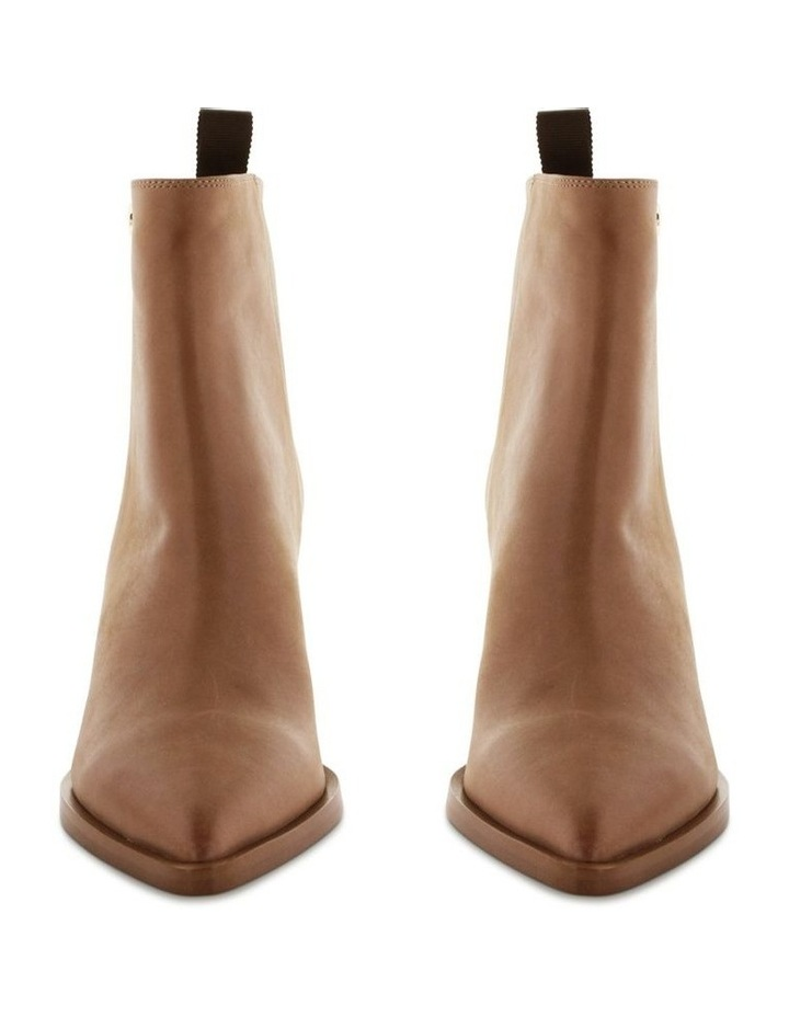 Sonya Caramel Diesel Wax Ankle Boots image 2