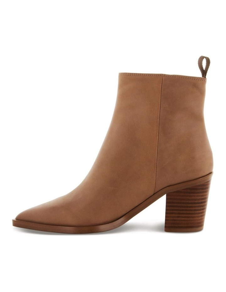Sonya Caramel Diesel Wax Ankle Boots image 3