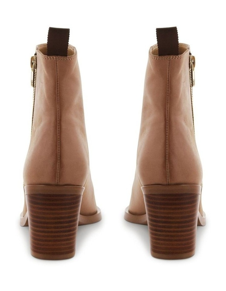 Sonya Caramel Diesel Wax Ankle Boots image 4