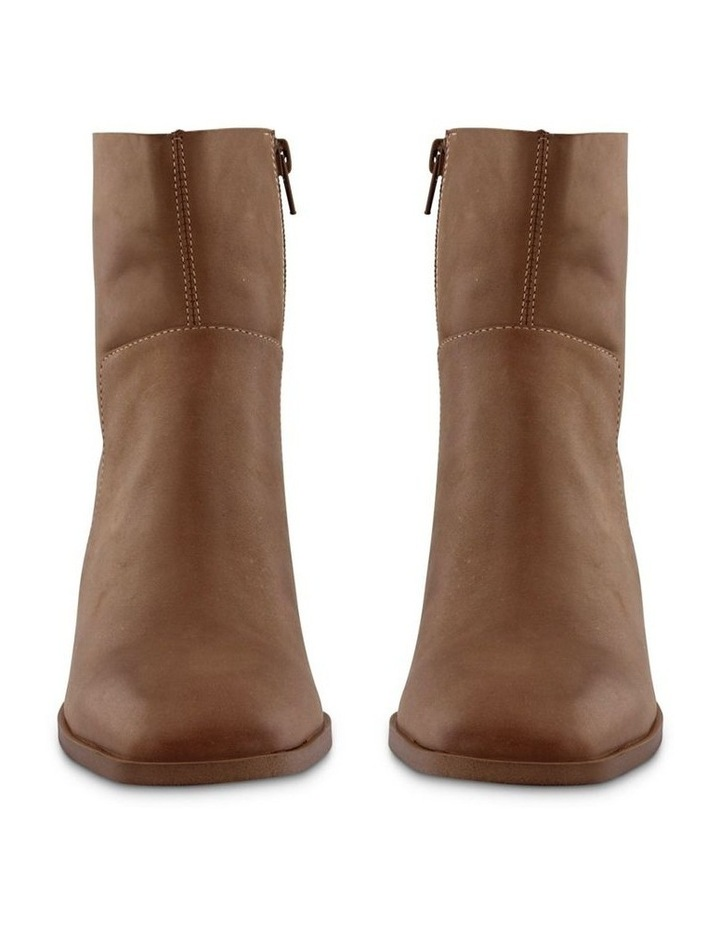 Willa Caramel Diesel Wax Ankle Boot image 2