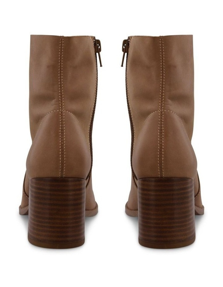 Willa Caramel Diesel Wax Ankle Boot image 4