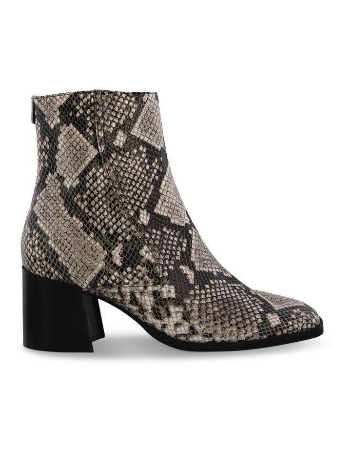 Willa Cream Python Ankle Boot image 1