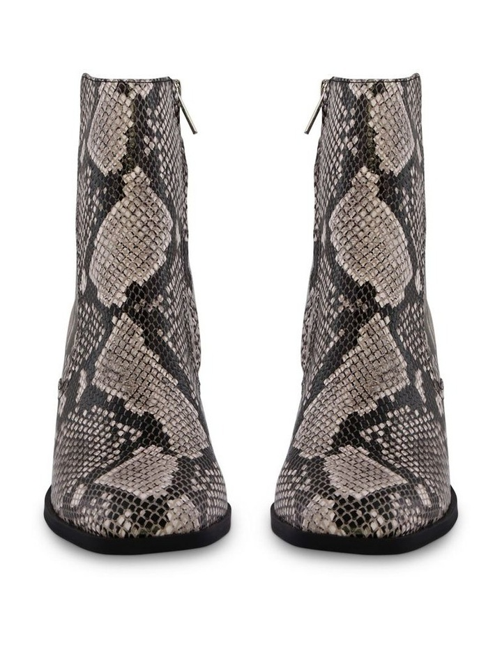 Willa Cream Python Ankle Boot image 2