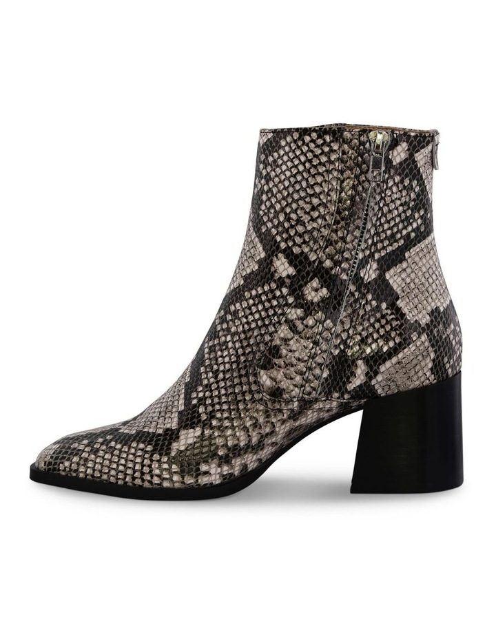 Willa Cream Python Ankle Boot image 3