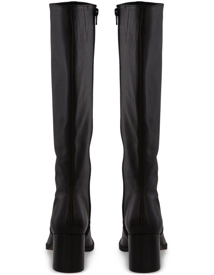 Willis Black Como Calf Boots image 4