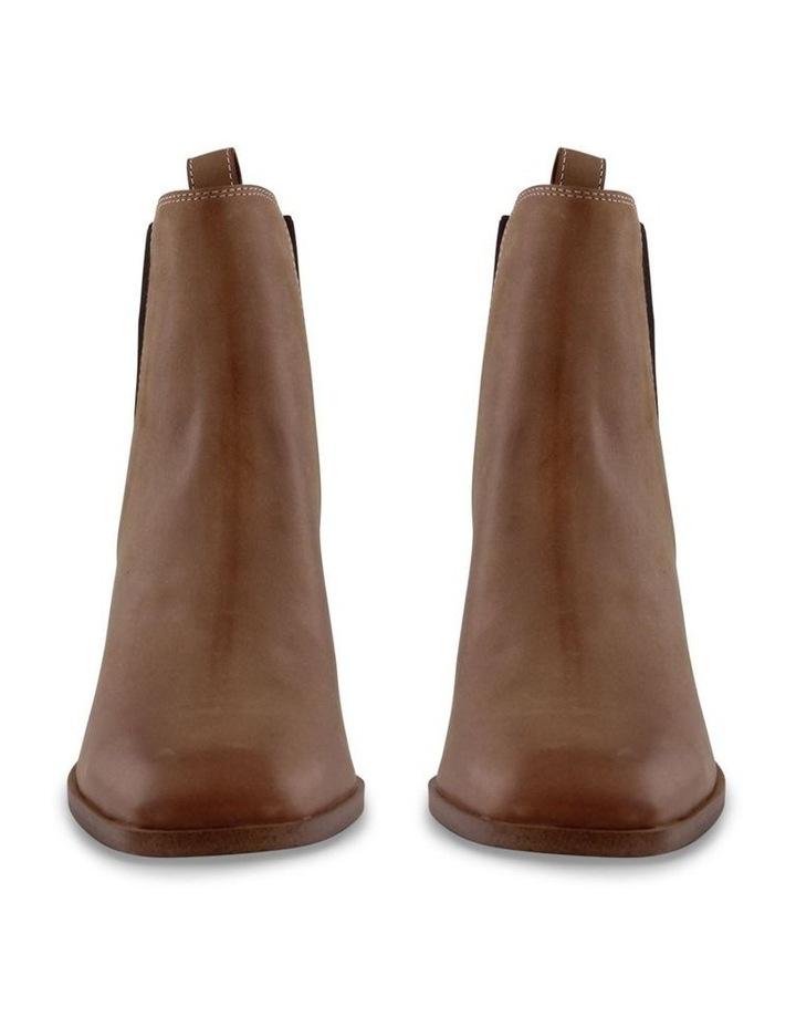 Wynter Caramel Diesel Wax Ankle Boot image 2
