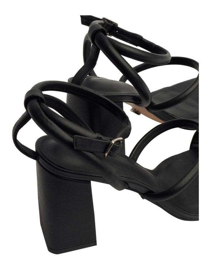 Celena Black Sheep Nappa Heels image 6