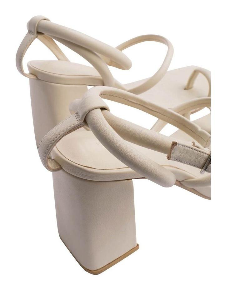Celena Vanilla Sheep Nappa Heels image 6