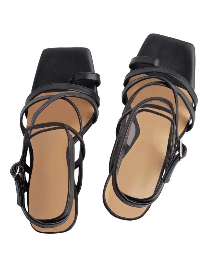 Cindi Black Sheep Nappa Heels image 4