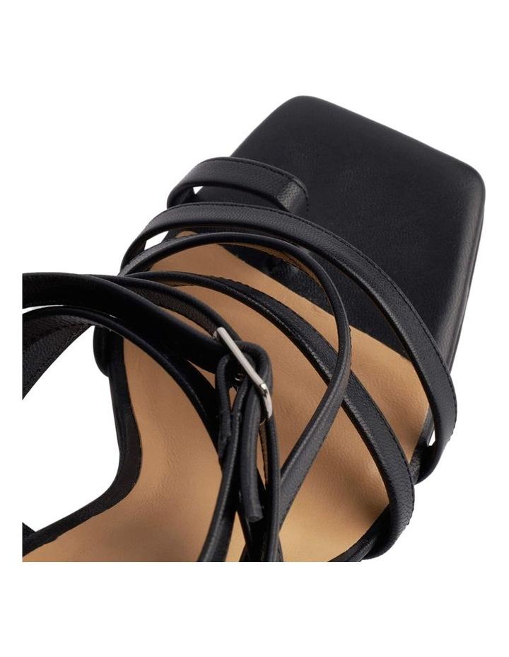 Cindi Black Sheep Nappa Heels image 5