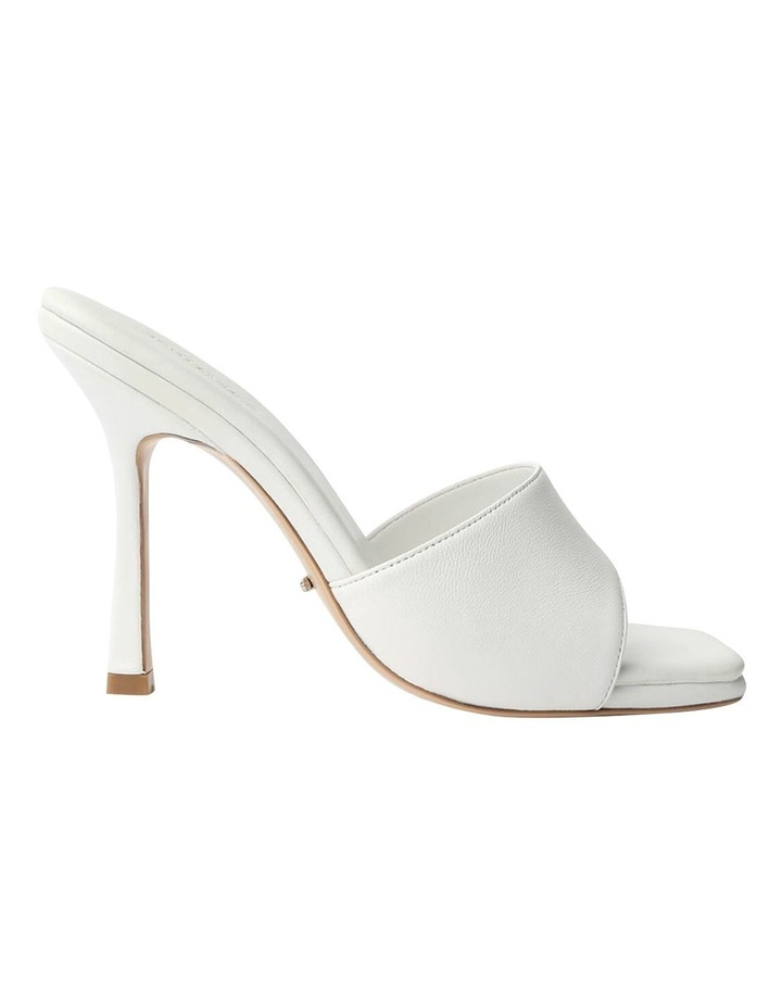 Flow White Sheep Nappa Heels image 1