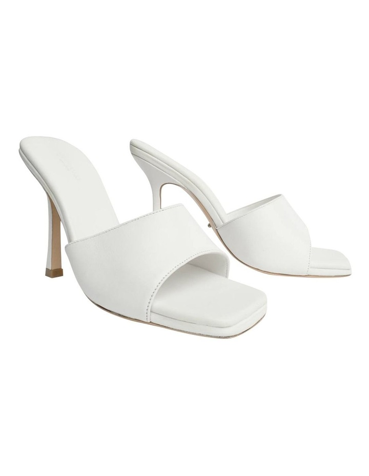 Flow White Sheep Nappa Heels image 2