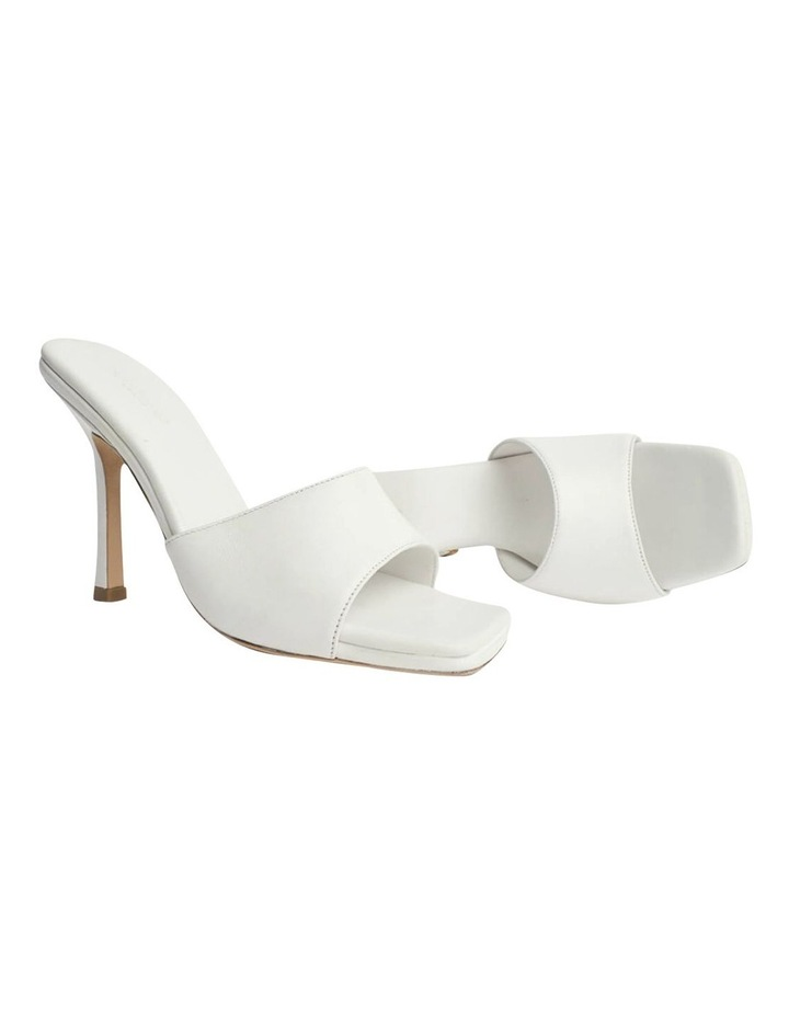 Flow White Sheep Nappa Heels image 4