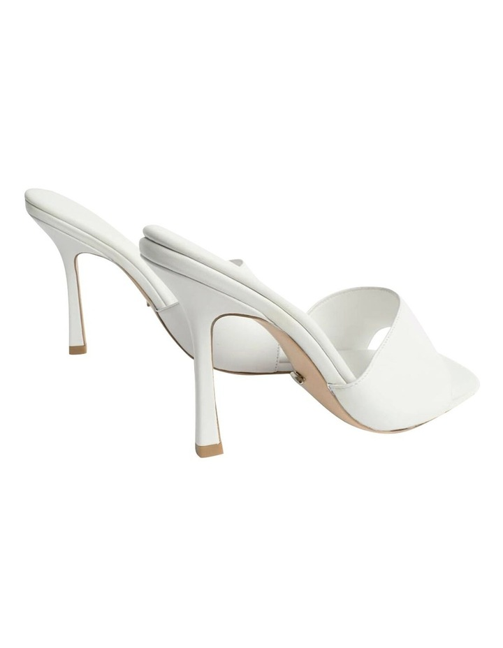 Flow White Sheep Nappa Heels image 5