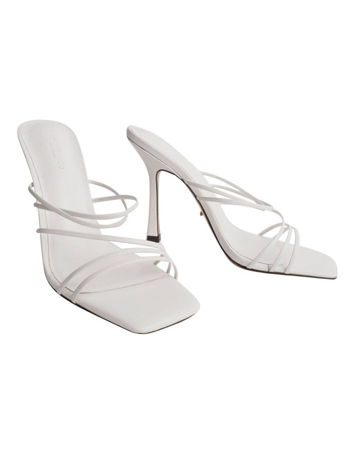 Foxie White Kid Heels image 2
