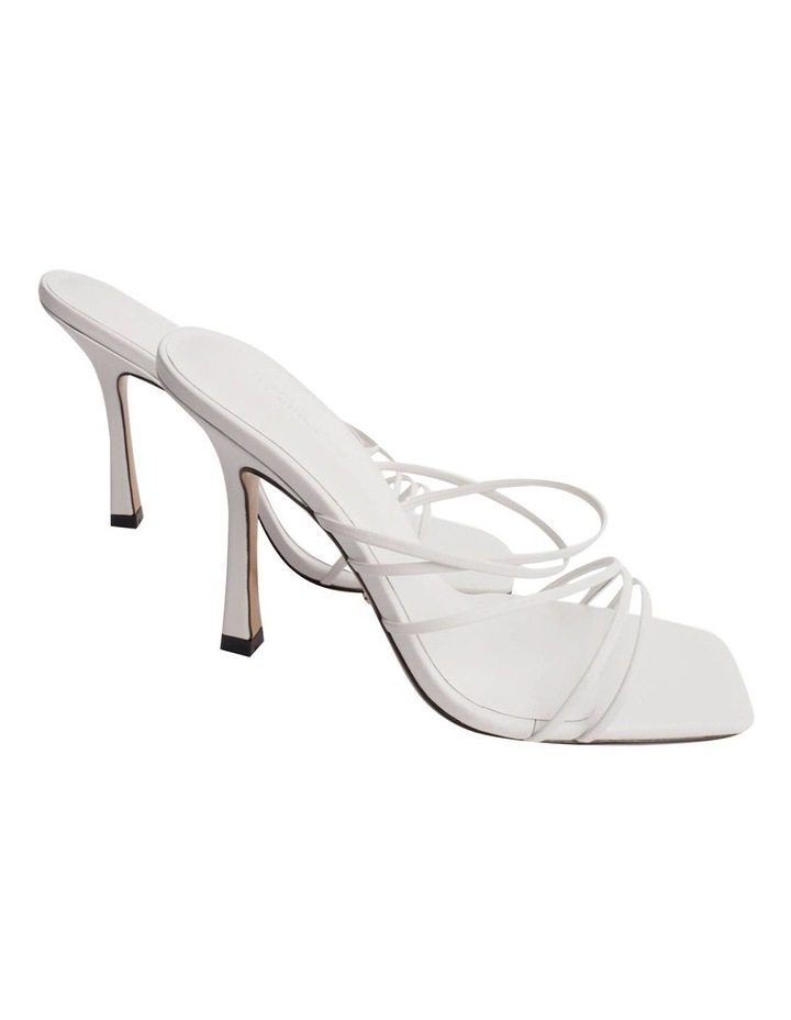 Foxie White Kid Heels image 6