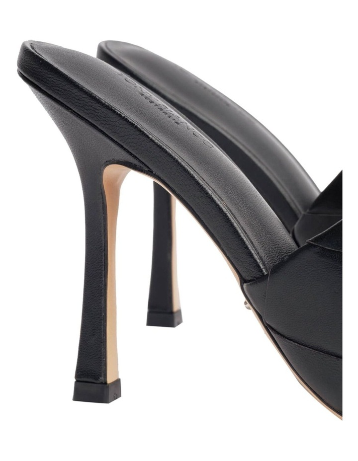 Frenzy Black Sheep Nappa Heels image 4