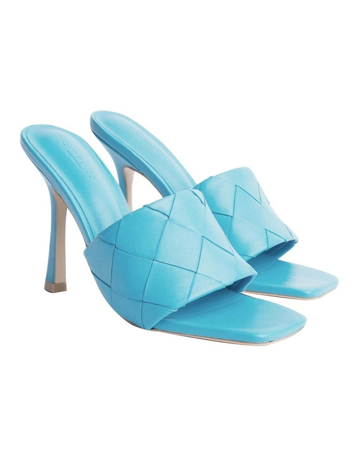 Frenzy Blue Sheep Nappa Heels image 1
