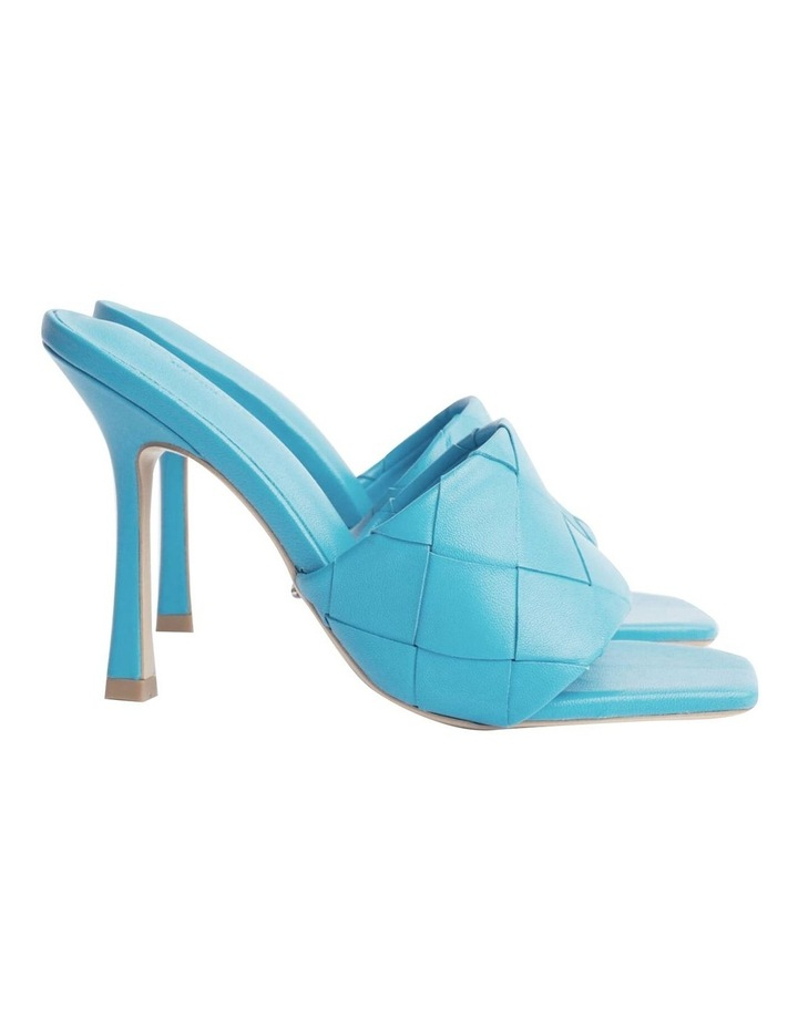 Frenzy Blue Sheep Nappa Heels image 2