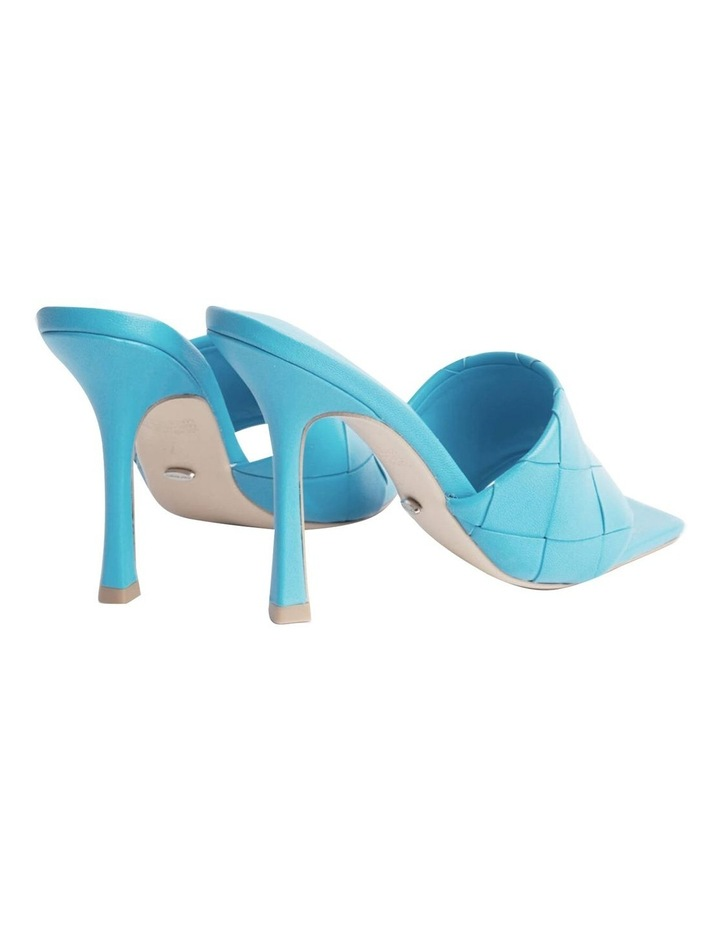 Frenzy Blue Sheep Nappa Heels image 4
