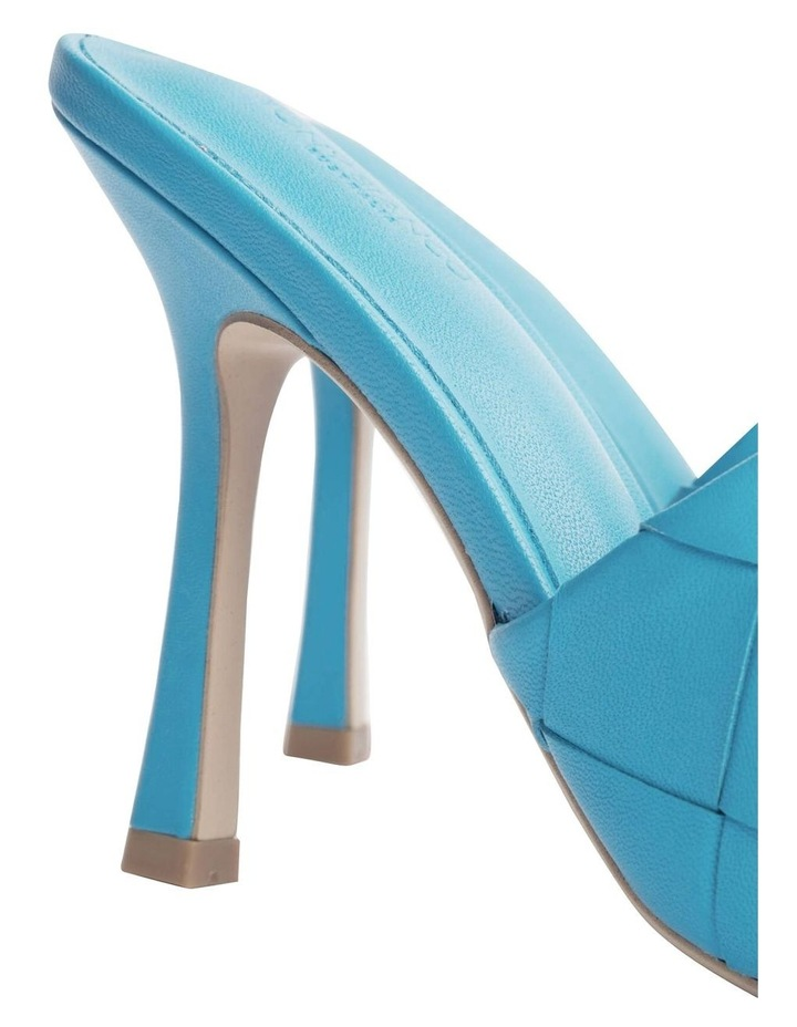 Frenzy Blue Sheep Nappa Heels image 5