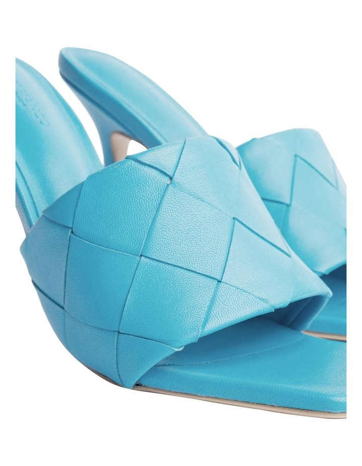 Frenzy Blue Sheep Nappa Heels image 7