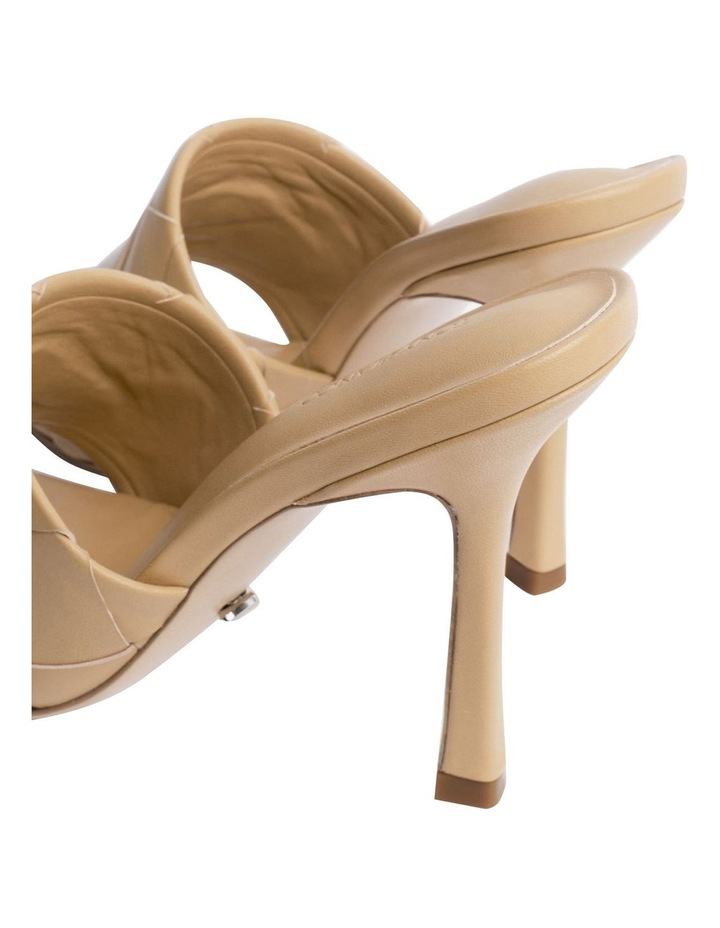 Frenzy Honey Sheep Nappa Heels image 6