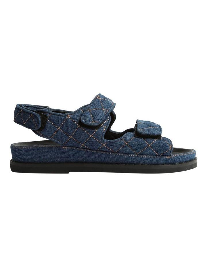 Hiranni Indigo Denim Sandals image 1