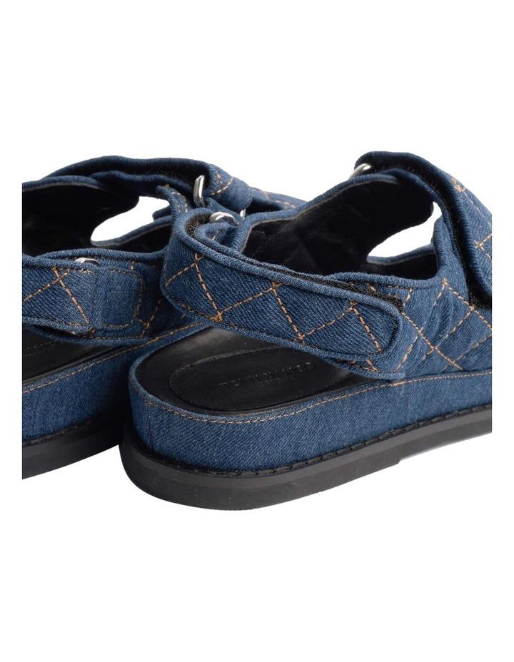 Hiranni Indigo Denim Sandals image 3