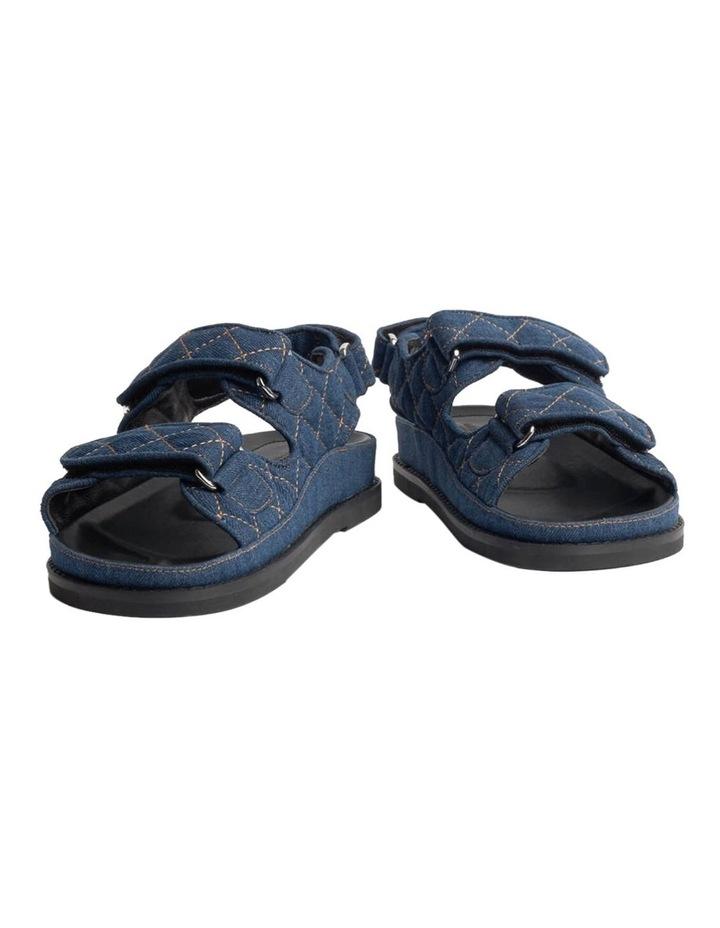 Hiranni Indigo Denim Sandals image 4