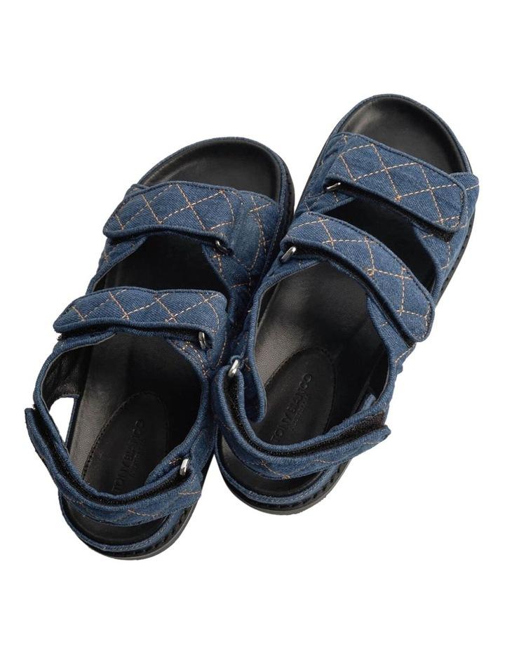 Hiranni Indigo Denim Sandals image 5