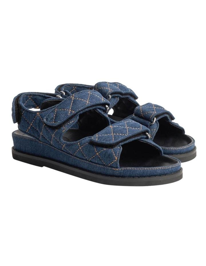 Hiranni Indigo Denim Sandals image 6