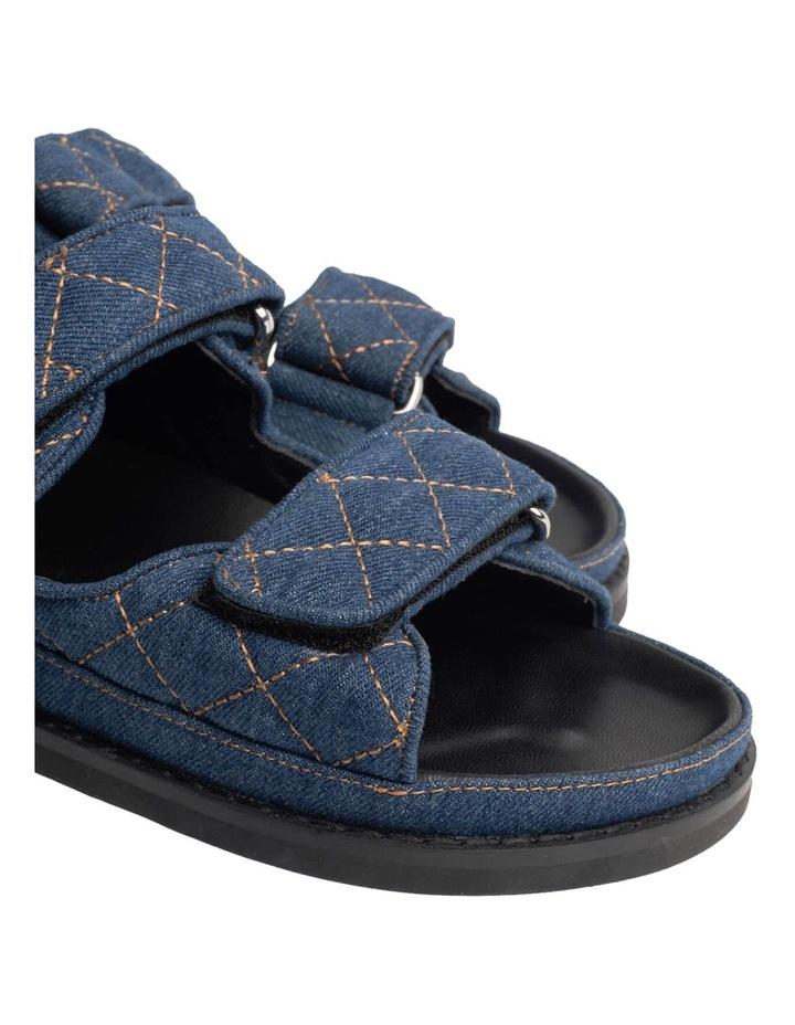 Hiranni Indigo Denim Sandals image 7
