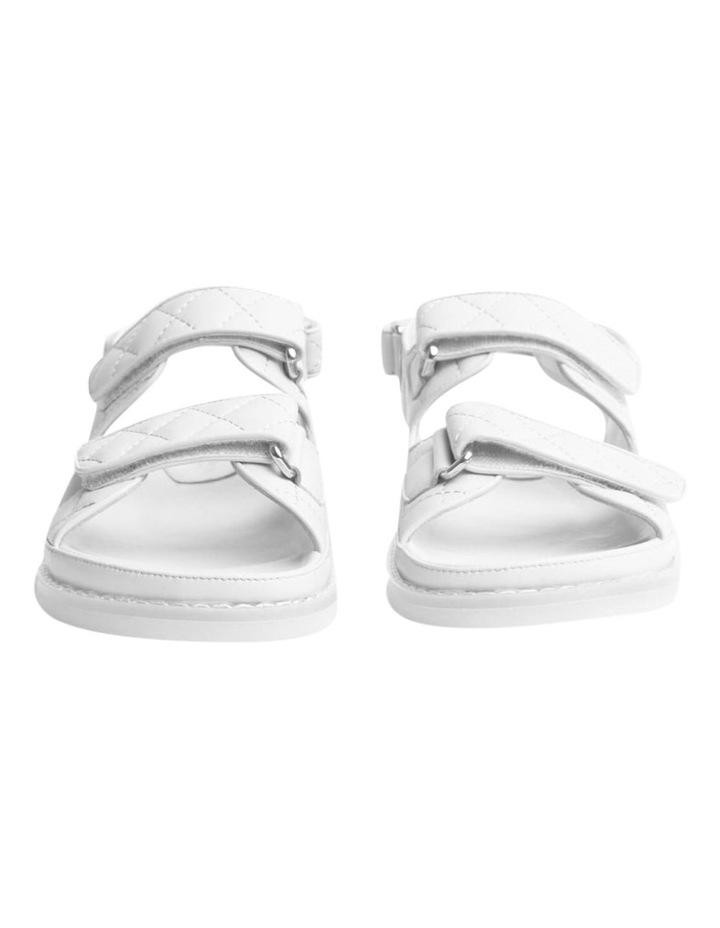 Hiranni White Sheep Nappa Sandals image 2
