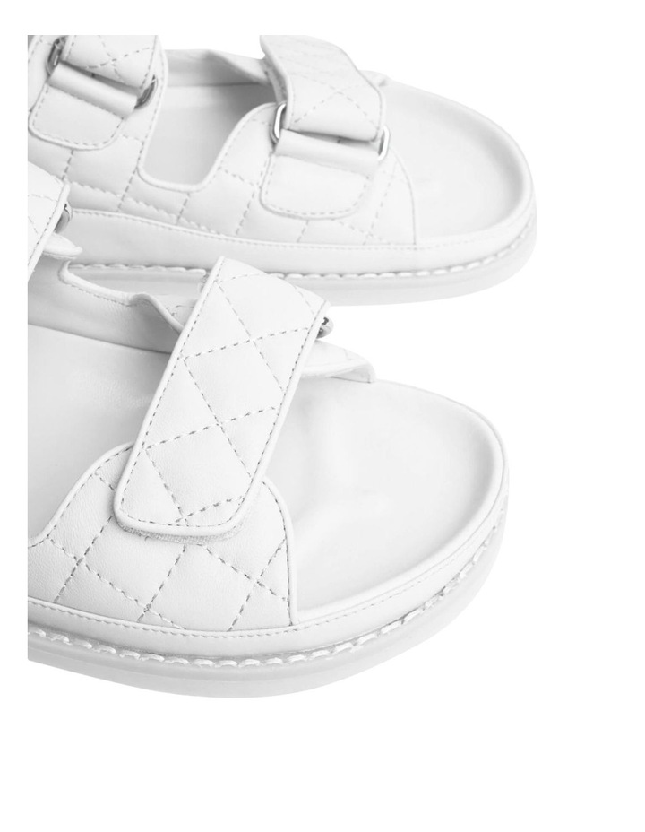 Hiranni White Sheep Nappa Sandals image 5