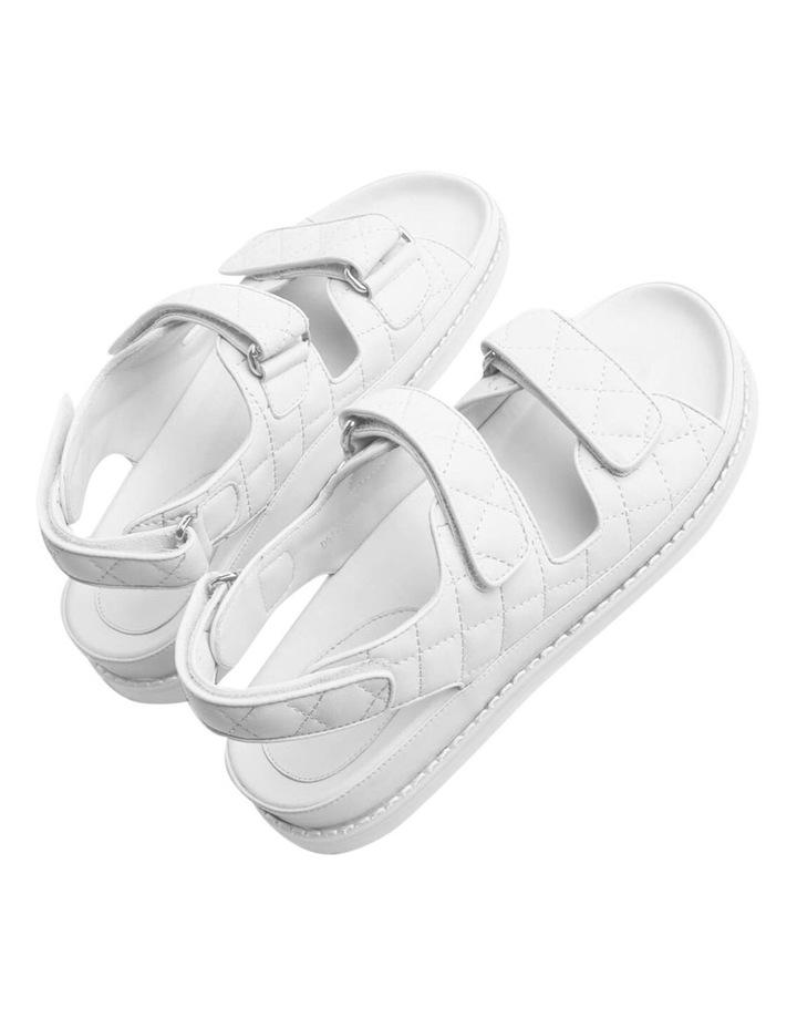Hiranni White Sheep Nappa Sandals image 6