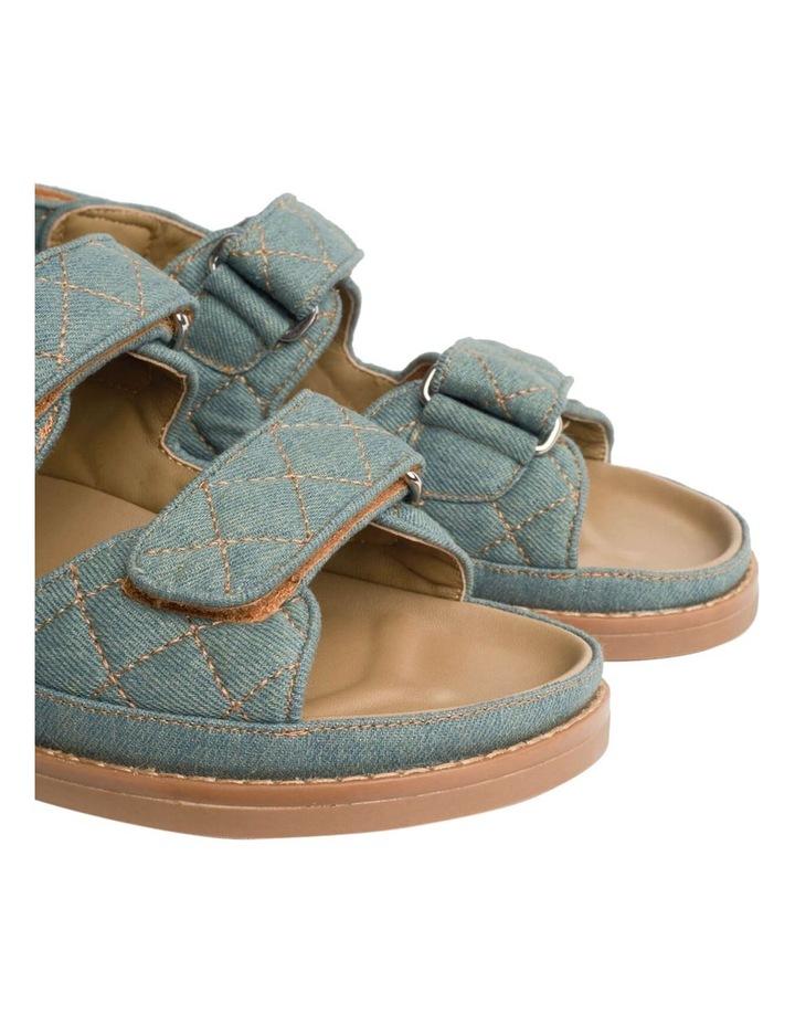 Hiranni Washed Denim Sandals image 6