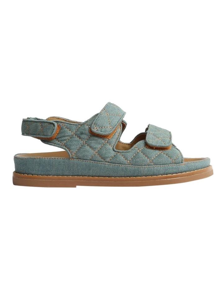 Hiranni Washed Denim Sandals image 7