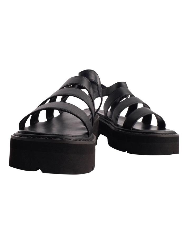 Jaya Black Como Sandals image 2