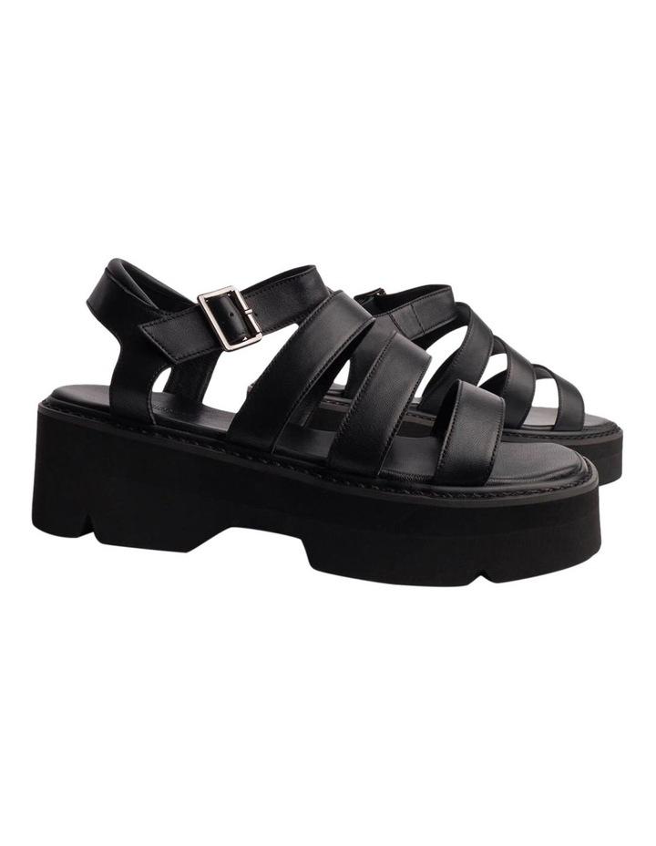 Jaya Black Como Sandals image 3