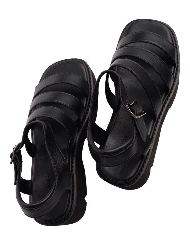 Jaya Black Como Sandals image 4