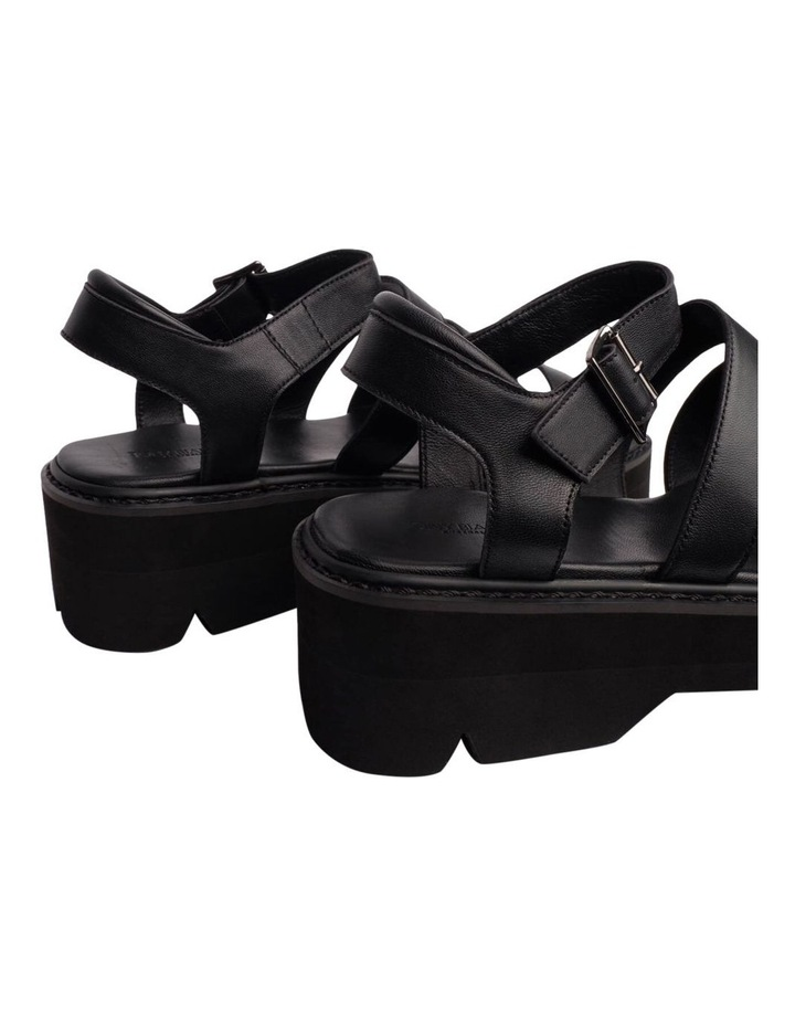 Jaya Black Como Sandals image 5