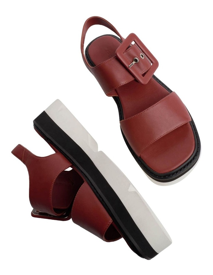 Jett Saddle Sheep Nappa Sandals image 6