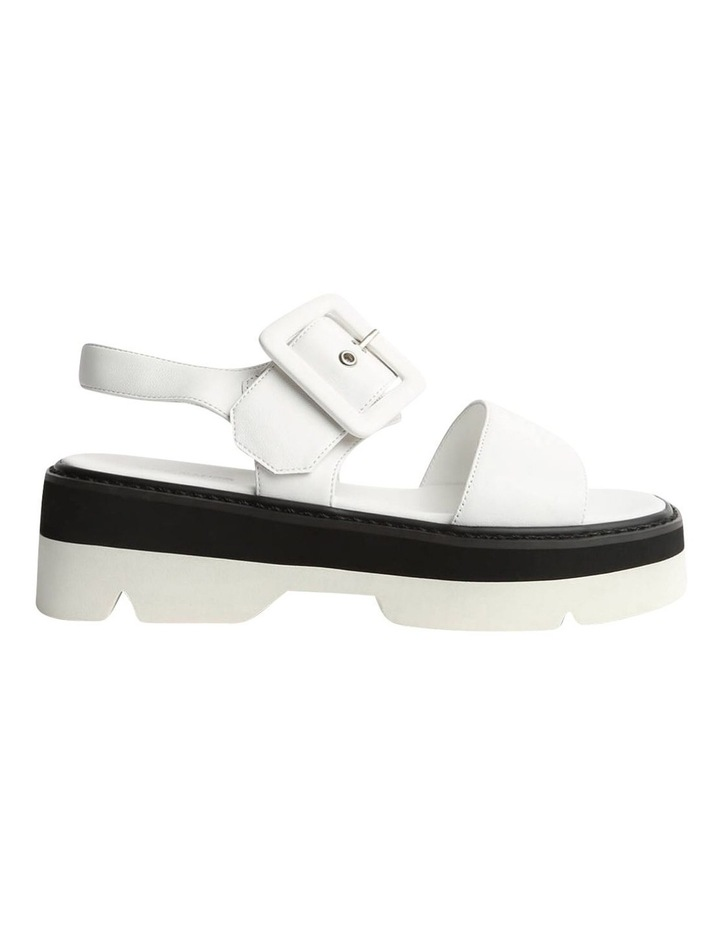 Jett White Sheep Nappa Sandals image 1
