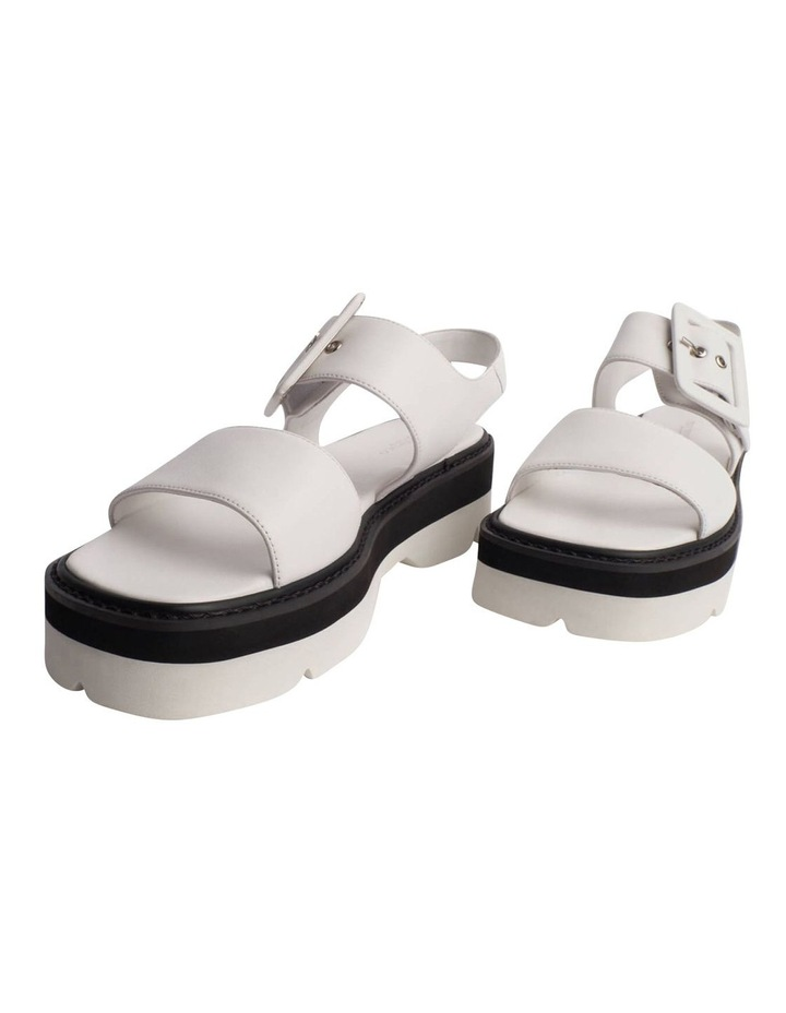 Jett White Sheep Nappa Sandals image 2